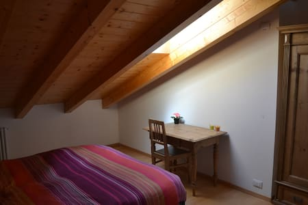 Two level flat with Brenta's Dolomiti view. - Romeno - 独立屋