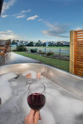 Outdoor Stoked Stainless Bathtub