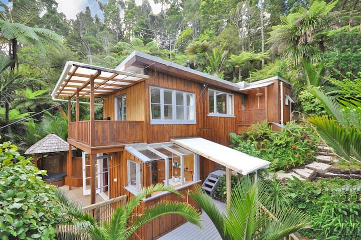 Native forest retreat
