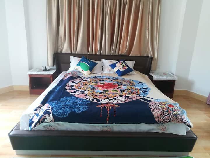 三亚兰海仙谷旁别墅房两居室