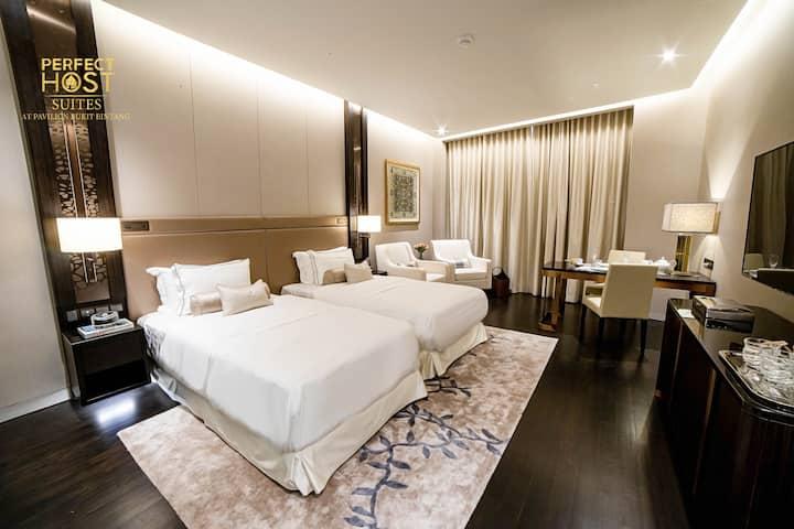 Premium Deluxe Twin Suites @Pavilion Bukit Bintang