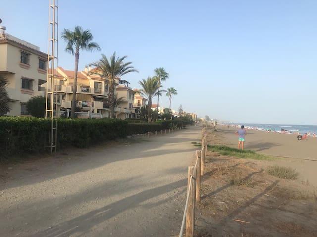 Primera línea de playa, costa del sol, Málaga
