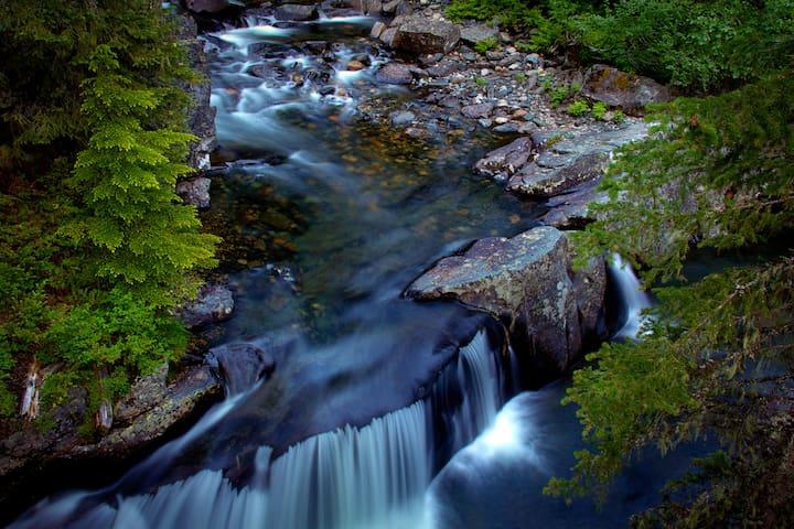 Breathtaking waterfalls.