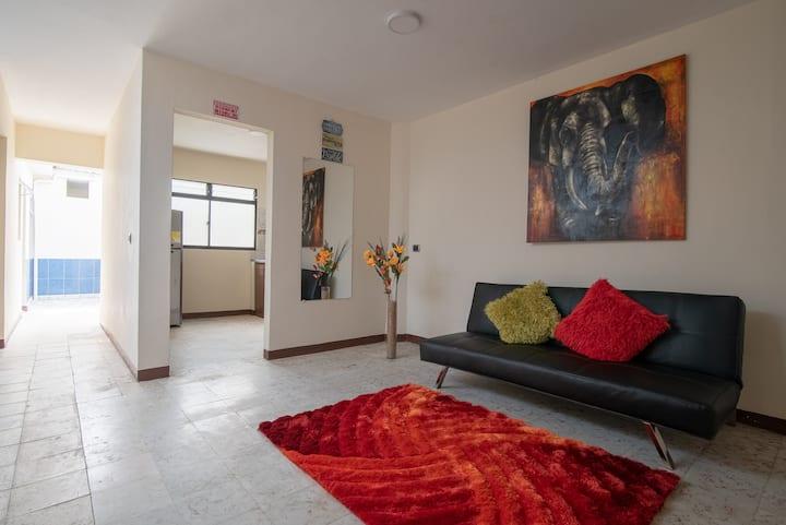 Habitacion U de Antioquia Baño Compartido