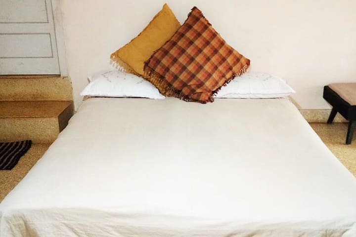 A double bedroom accommodation which renders all the necessities of an excellent room which makes it adequate for our dear guests.