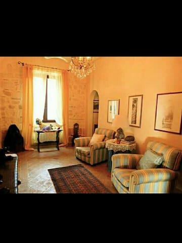 ANTICA DIMORA con splendida terrazza panoramica - Tarquinia - Appartement