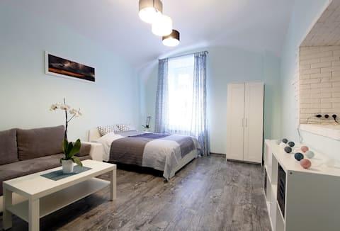 Stilfuld og hyggelig lejlighed i Kazimierz-distriktet