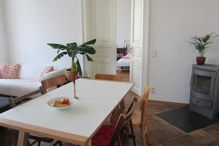 Cozy room in big flat, 10 min to the city center - 维也纳 - 公寓