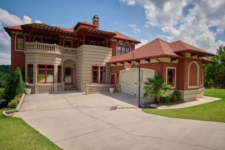 Atlanta Hillside Mediterranean Villa