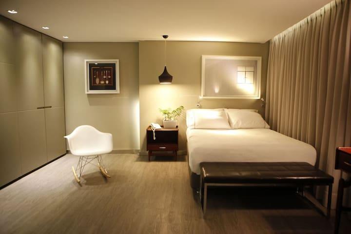 G Moderno Apartaestudio Loft Chapinero Alto