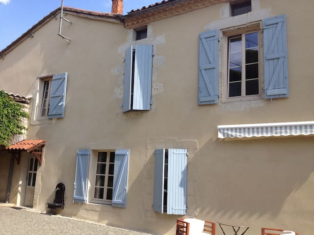 Gite Sicard a roomy 3 bed house in pretty village