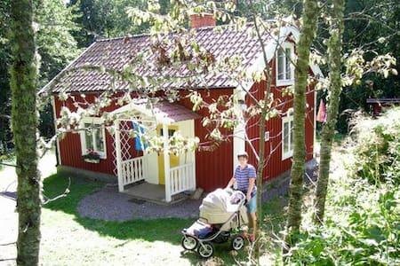 Nice old cottage close to nature i Björkfors