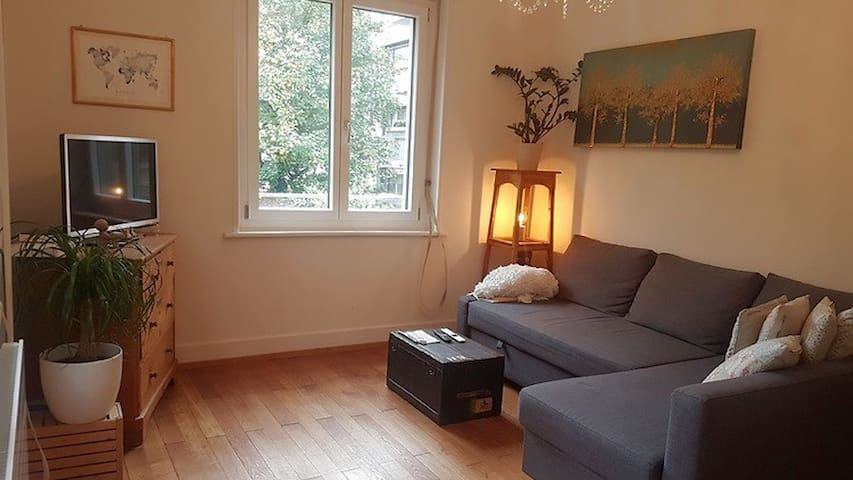 2.5 room apartment, 5 min from BASELWORLD