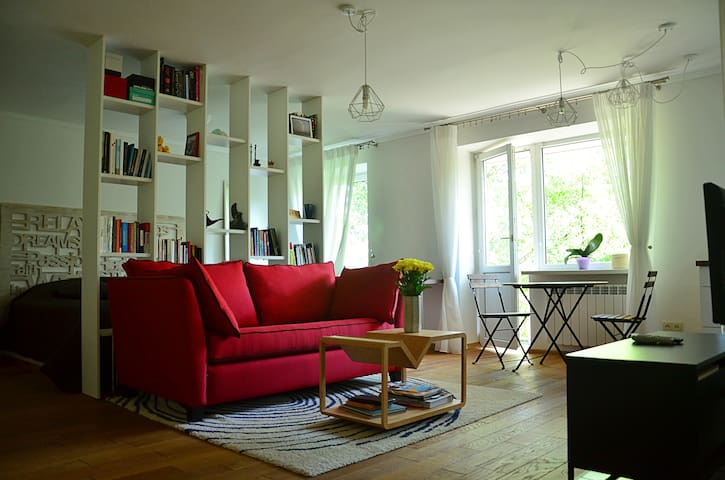 Cozy designer's apartment in Kyiv - Kiev