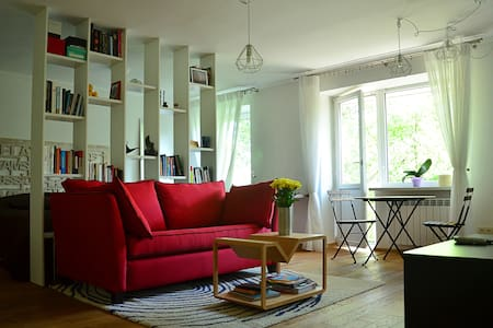 Cozy designer's apartment in Kyiv - Apartment