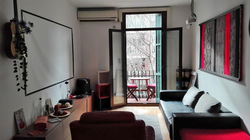 Habitación espaciosa, Cerca de Plaza España - Barcelona - Pis