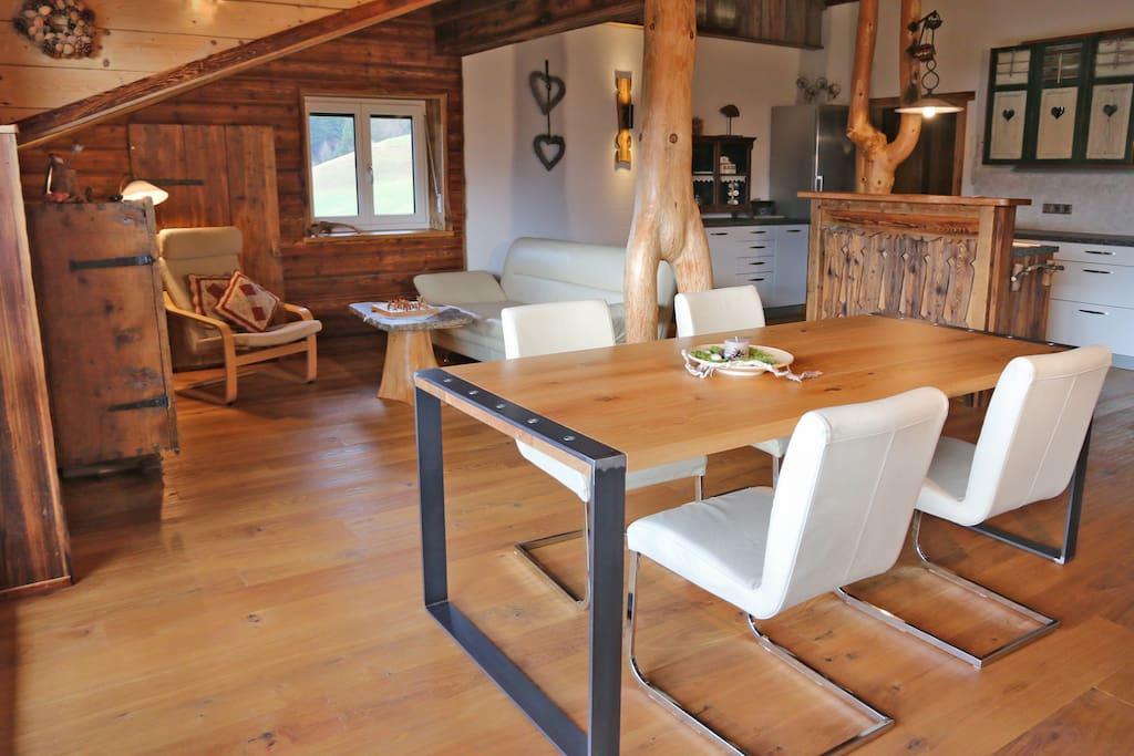 Traumhaft Wohnen im Luxus Apartment Wiesbachgut