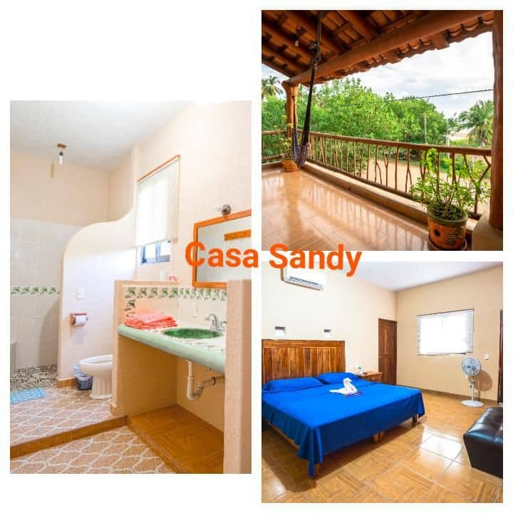 CASA SANDY. hermosa. just 50 steps from the sea.