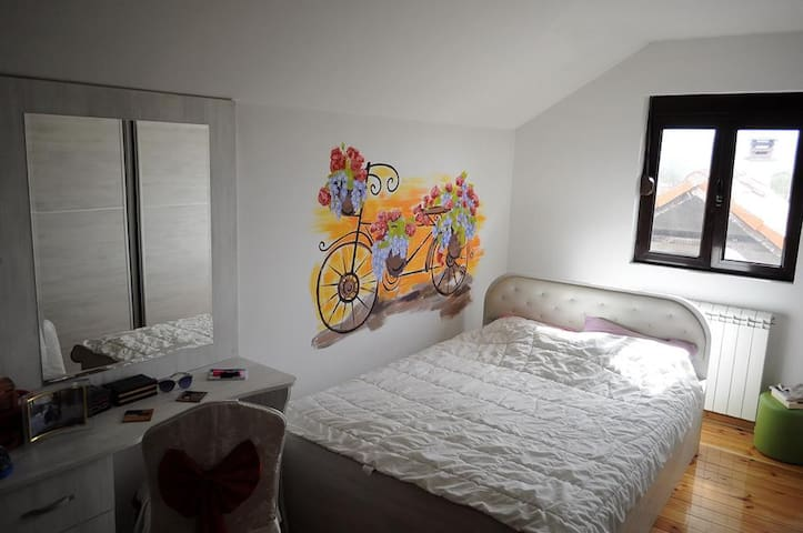 Spring Bike Bedroom + free bikes - Cetinje - Dům