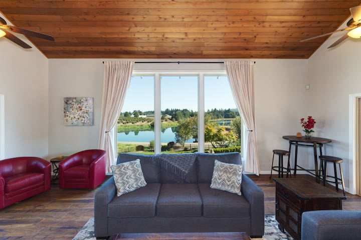 Pondview:Vacation Rental near Intel &Wine Country