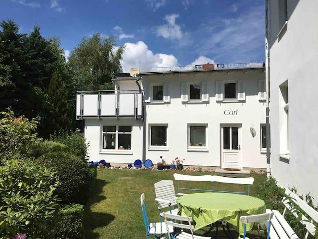 90 m² Haus Carl im Garten der Villa Anna Zinnowitz
