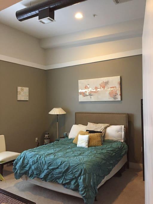 Master Bedroom w/ Private Balcony