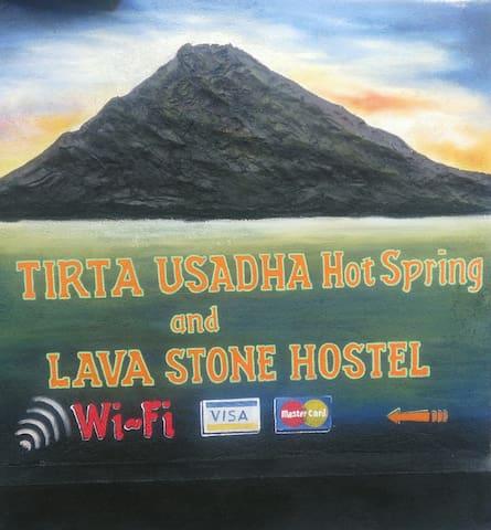 LAVA STONE HOSTEL - Kintamani