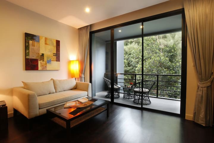Cozy studio flat with roof top pool - Patong, Kathu - 아파트
