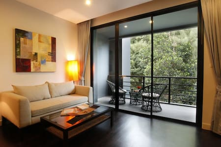 Cozy studio flat with roof top pool - Patong, Kathu
