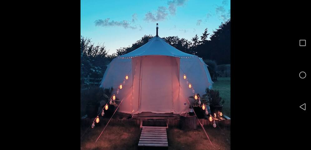 Glamping at The Vineyard