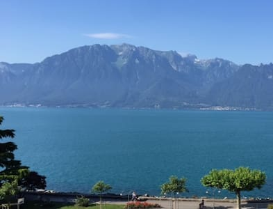 Exclusive 136m2 penthouse, Geneva lake shorefront. - Vevey - Loft