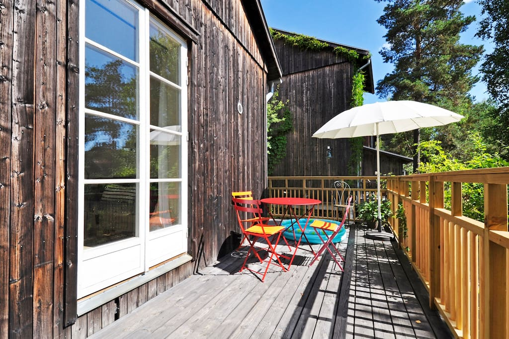 A unique eco townhouse in stockholm case in affitto a for Airbnb accedi