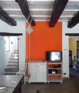 Stanza con caminetto in cascina - Cavallerleone, Piemonte, IT - House
