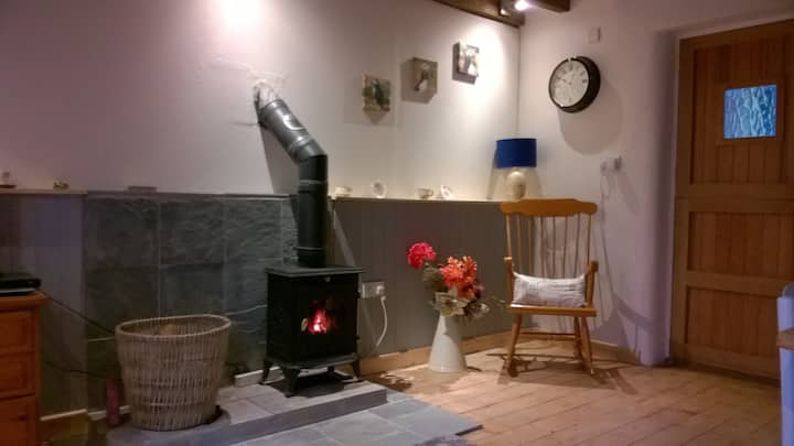 Cottage for 2 adults near Narberth, with dogs.