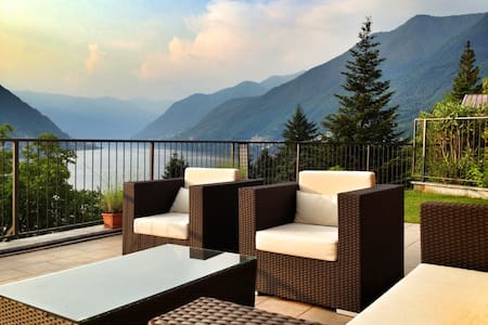 COMO LAKE AMAZING VIEW - Faggeto Lario - อพาร์ทเมนท์