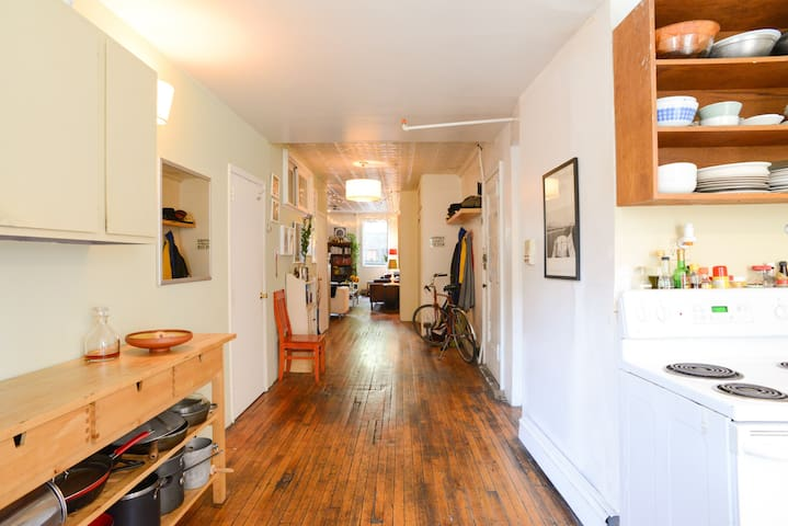 Large Room in Amazing East Village Apt - New York - Apartment