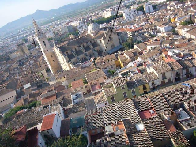 Casa rural en el centro histórico - Xàtiva - Casa