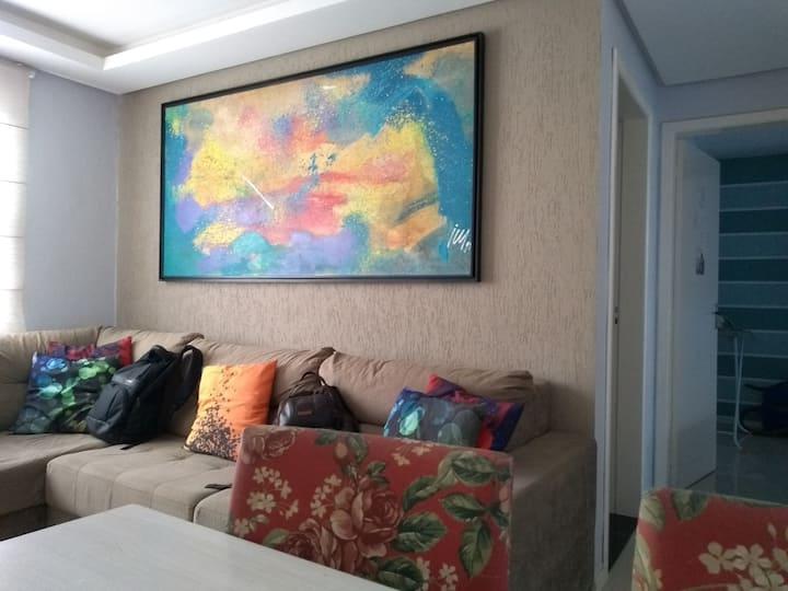 Apartamento Completo - Com garagem