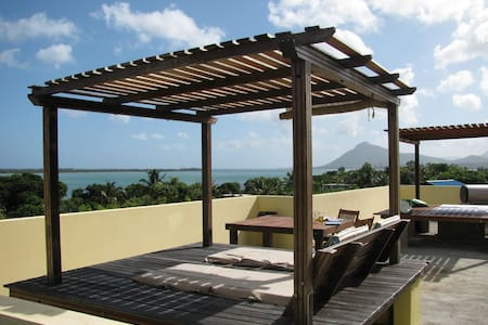 Studio 4 UNESCO views to Le Morne - La Gaulette