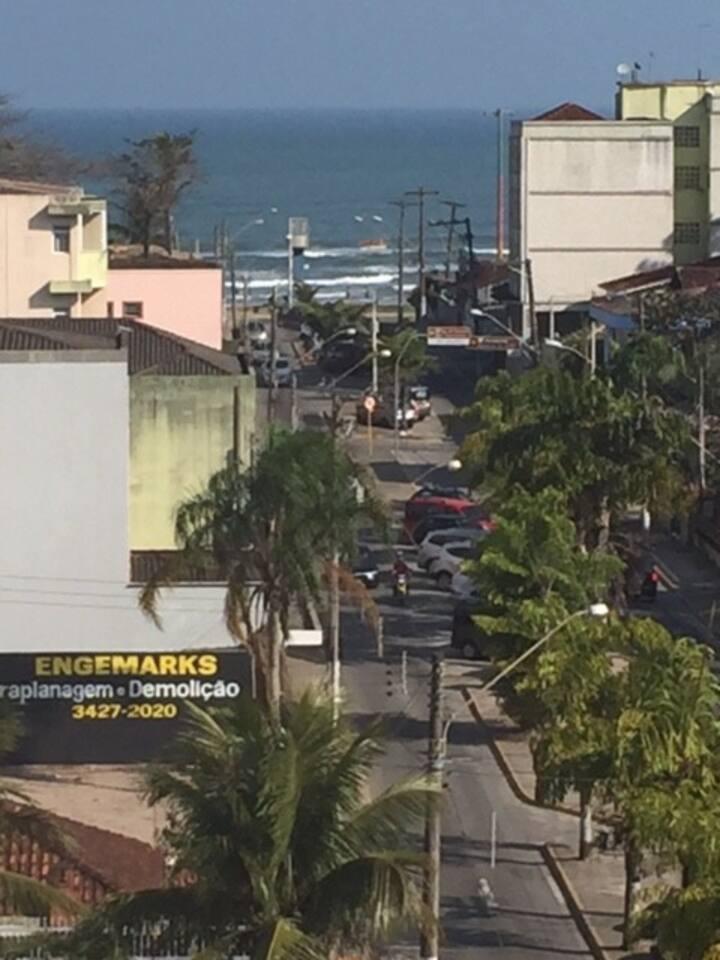 Apto  praia Itanhaem vista incrível