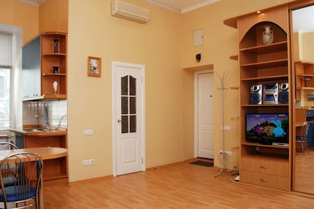 Quiet studio at Khreschatyk - Kiev - Appartement