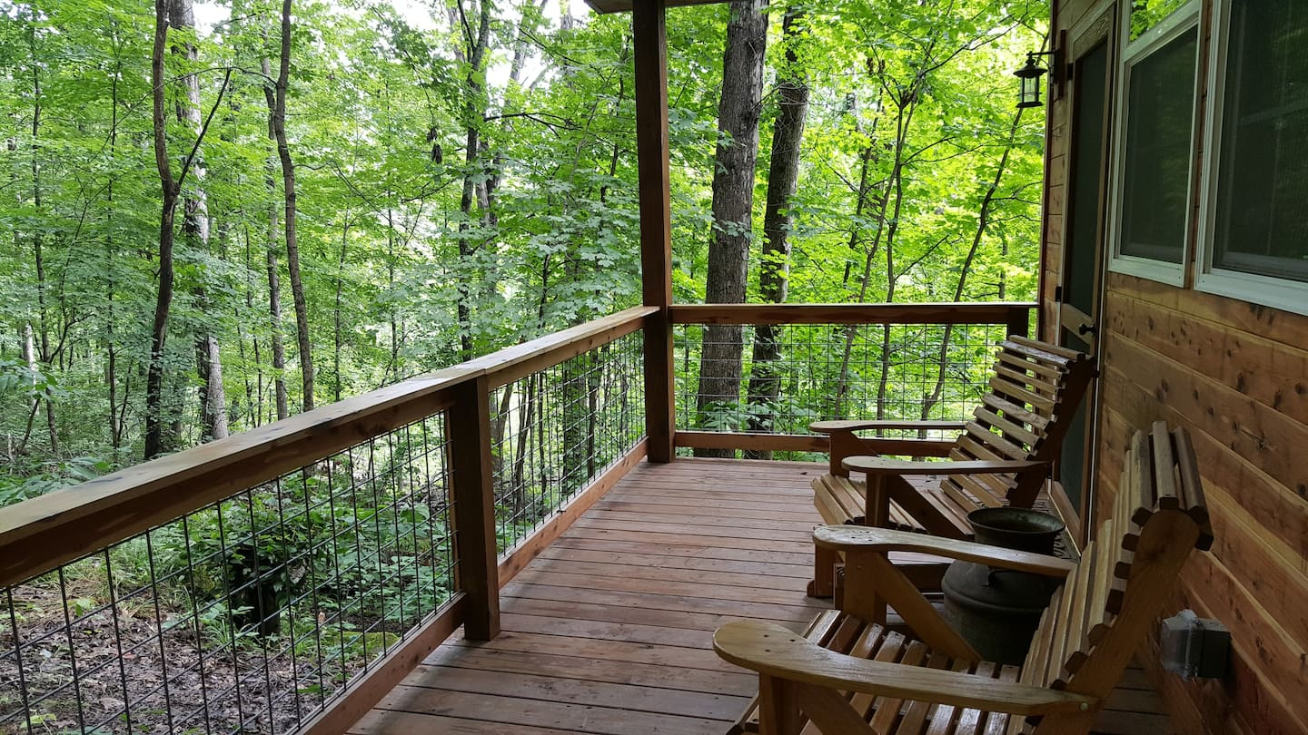 Wow! We found the Best Ohio treehouse Rentals. Save time searching!