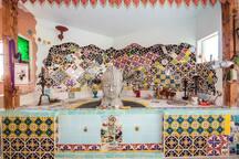 Indoor Buddha Fountain ©2o17 Hannah Smith