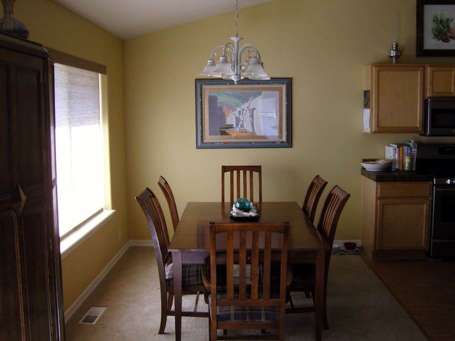 Dining Room comfortable seats 6