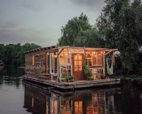 ♥Cosy & Warm Houseboat♥ Central Berlin Paradise