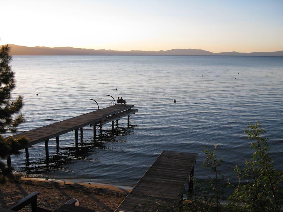Lake Tahoe is just one block away from Studio 4 ~*~
