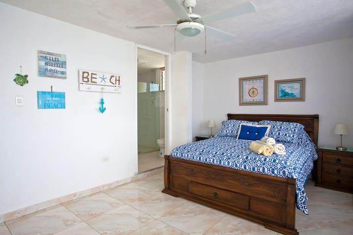 Master Bedroom - on ocean
