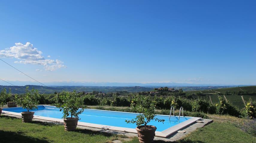 Vineyard Farmhouse Piemonte Italy