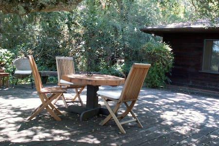 Wooden house under oak trees - Оринда