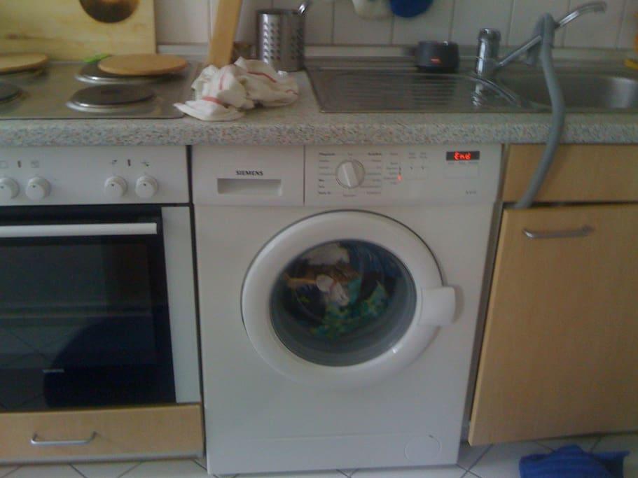 Waschmaschine + Herd, lets cook! Kochkurse mit Promikoch auf Anfrage!